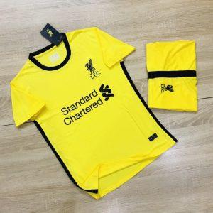 Áo Bóng Đá Cao Cấp Clb Liverpool Màu vàng Mùa 2020-2021