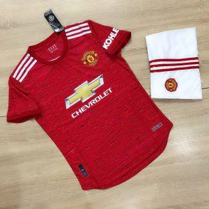Áo Bóng Đá Cao Cấp Clb Manchester United Màu Đỏ Mùa 2020-2021
