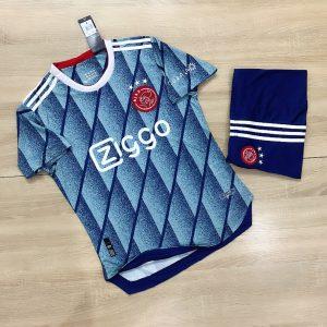 Áo Bóng Đá Cao Cấp Clb Ajax Màu Xanh Mùa 2020-2021