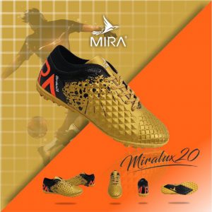 Giày bóng  đá  Mira Lux 2.0 màu Vàng phối Đen