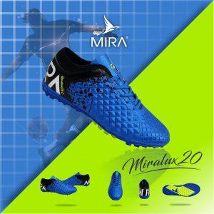 Giày bóng  đá  Mira Lux 2.0 màu Xanh Biển phối Đen