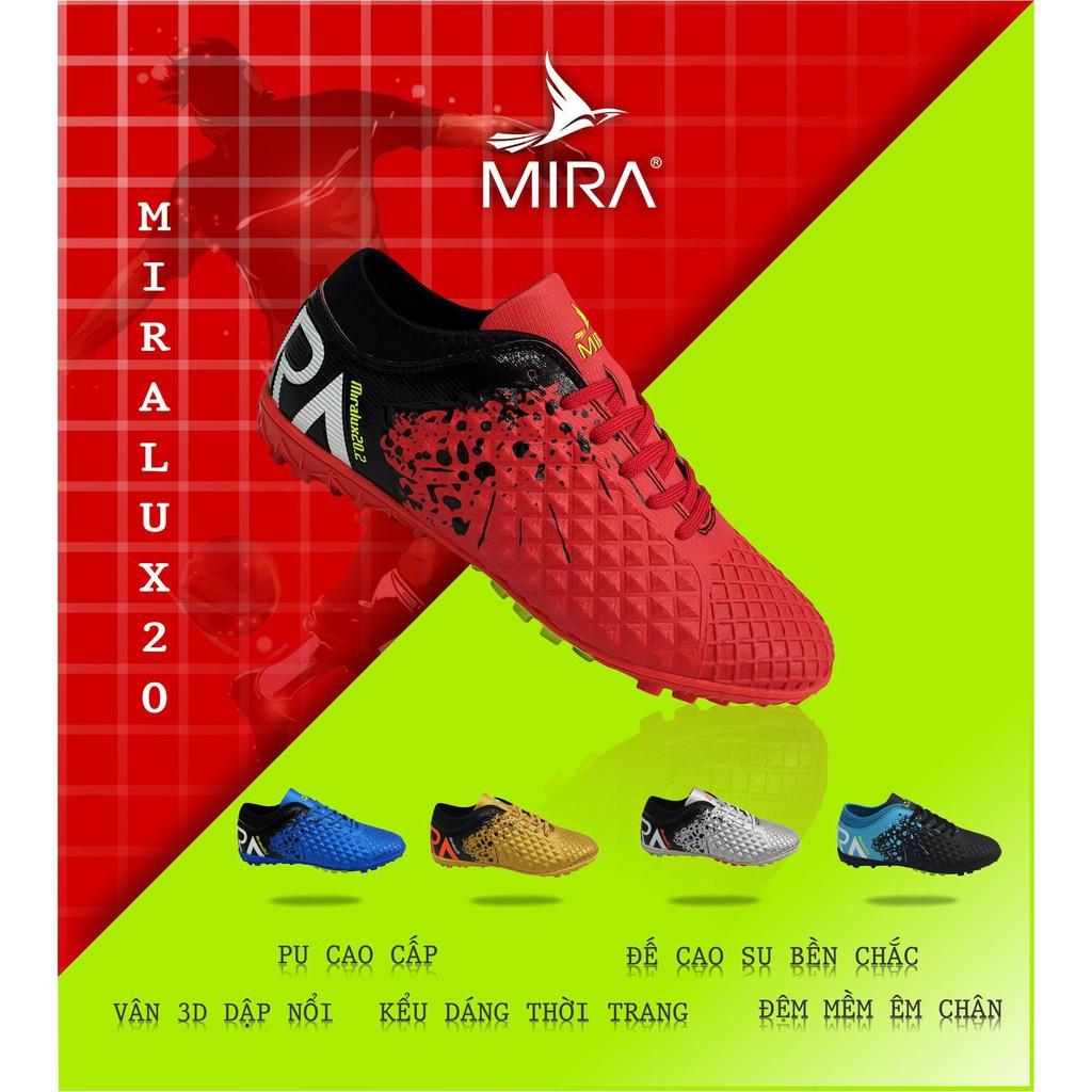 Giày bóng  đá  Mira Lux 2.0 màu Đỏ Phối Đen