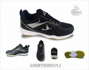 Giày bóng chuyền cầu lông Mira 2020 màu đen
