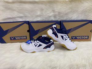 Giày bóng chuyền, cầu lông victor A170 màu trắng