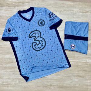 Áo bóng đá chế Clb Chelsea màu xanh