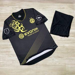 Áo bóng đá chế Clb Dortmund màu đen
