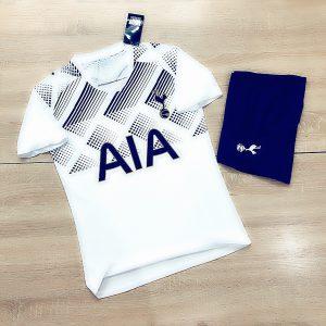 Áo bóng đá thể thao mè thái Clb Tottenham màu trắng