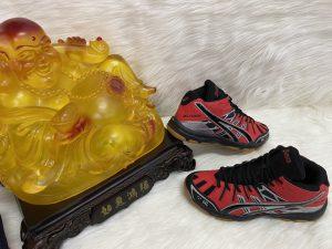 Giày thể thao bóng chuyền Asics màu Đỏ