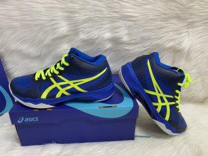 Giày thể thao bóng chuyền Asics chính hãng màu Xanh Biển
