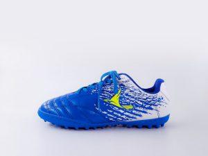 Giày bóng đá da Mira power màu Xanh Biển