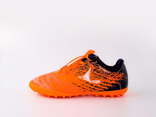 Giày bóng đá da Mira power màu Cam