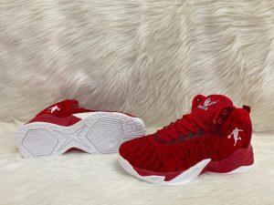 Giày bóng rổ cao cấp màu đỏ mã 657