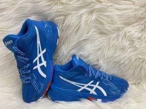 Giày bóng chuyền Asics mã 898 màu xanh da