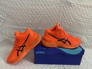 Giày bóng chuyền Asics mã 898 màu cam