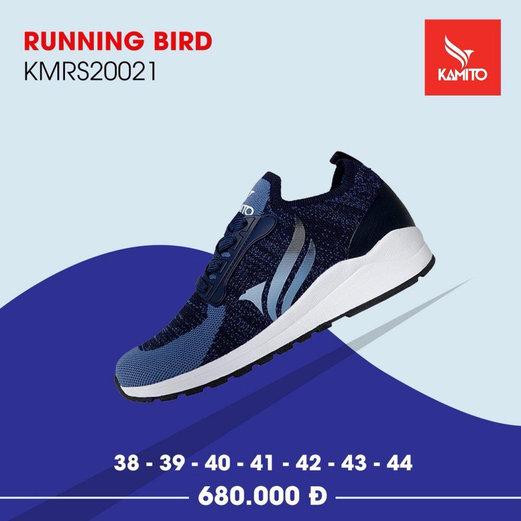 Giày chạy bộ thể thao Kamito Running Bird mã KMRS20021