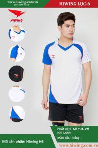 Áo bóng chuyền nam chính hãng HIWING mã H6 màu Trắng