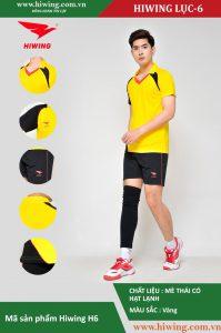 Áo bóng chuyền nam chính hãng HIWING mã H6 màu Vàng